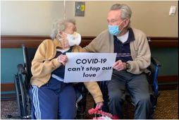 COVID-19 stöðvaði svo sannarlega ekki ást Joyce od Don sem hafa verið gift í 67 …