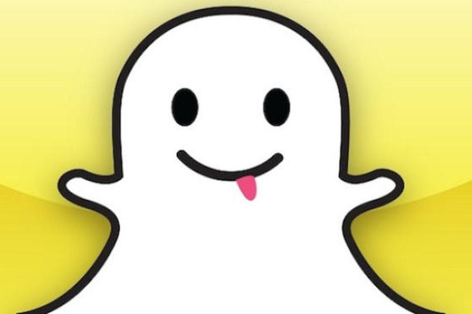 Snapchat er vinsælt meðal unglinga.