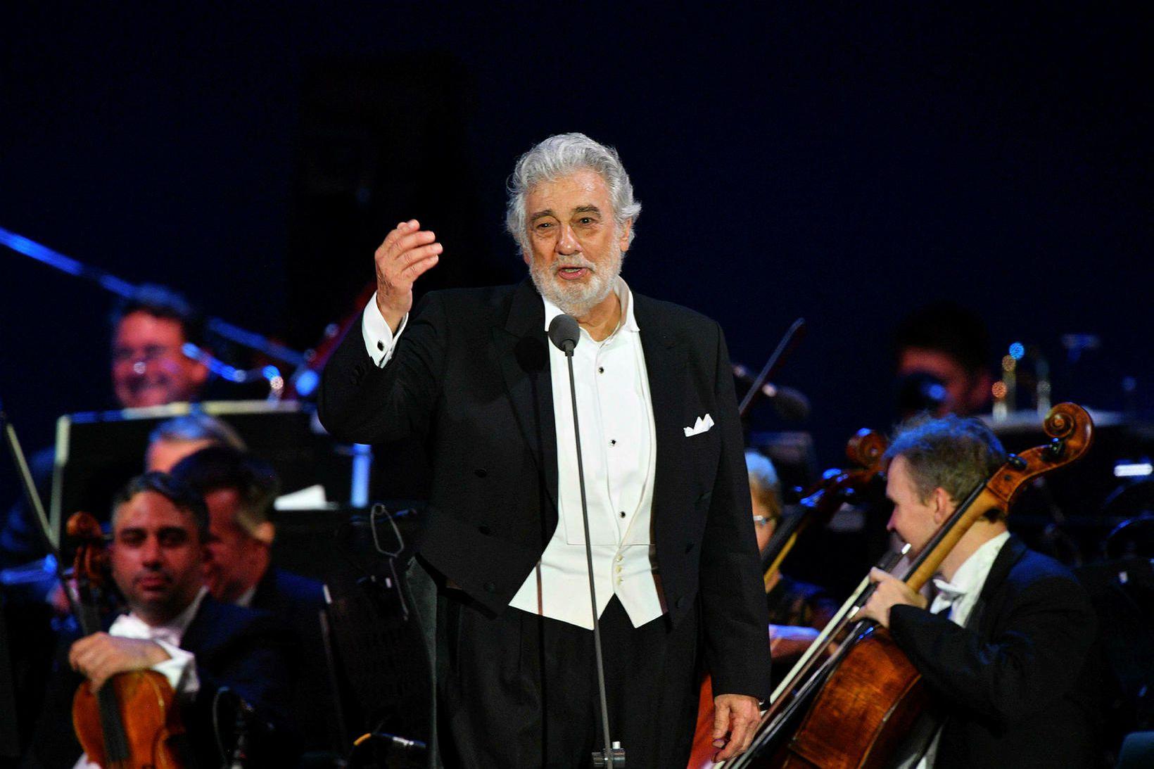 Spænski tenórinn Placido Domingo mun aldrei aftur koma fram í …