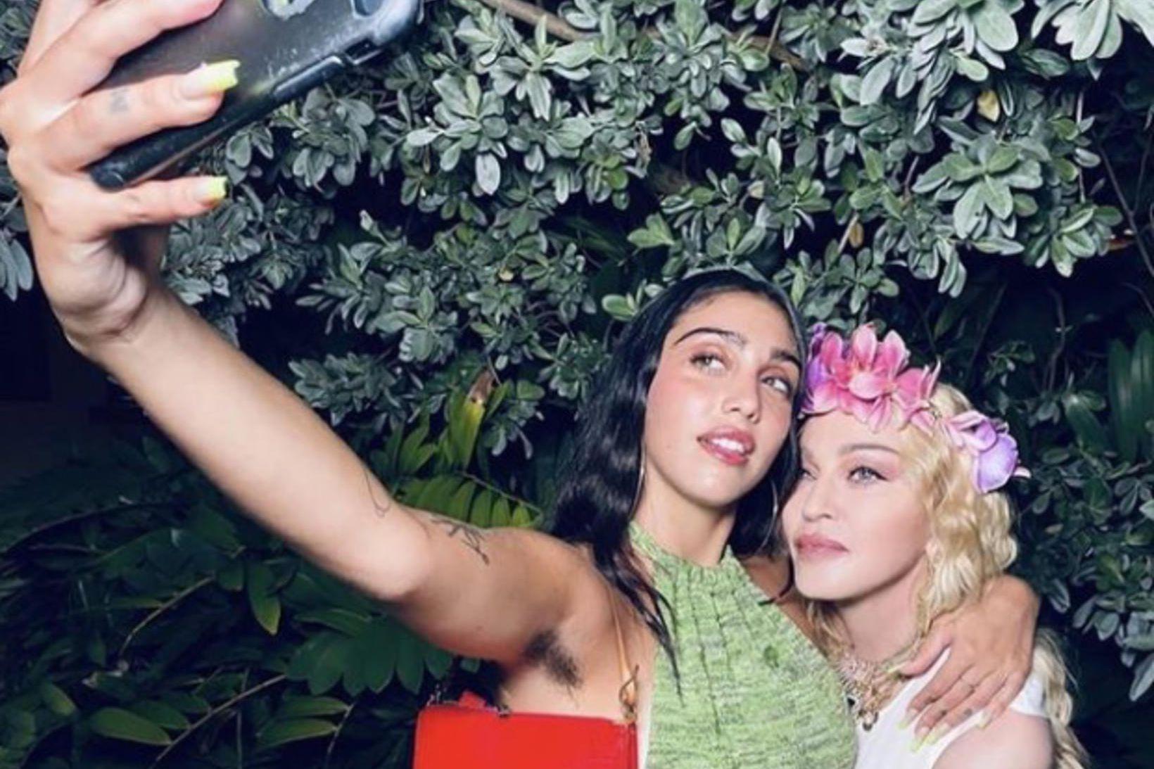 Lourdes Leon og Madonna.