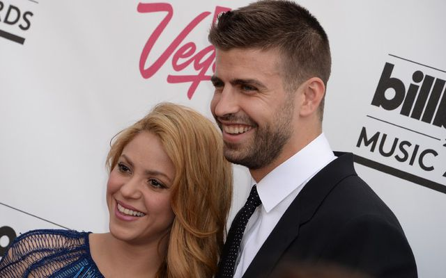 Söngkonan Shakira og Gerard Piqué.