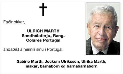 ULRICH MARTH