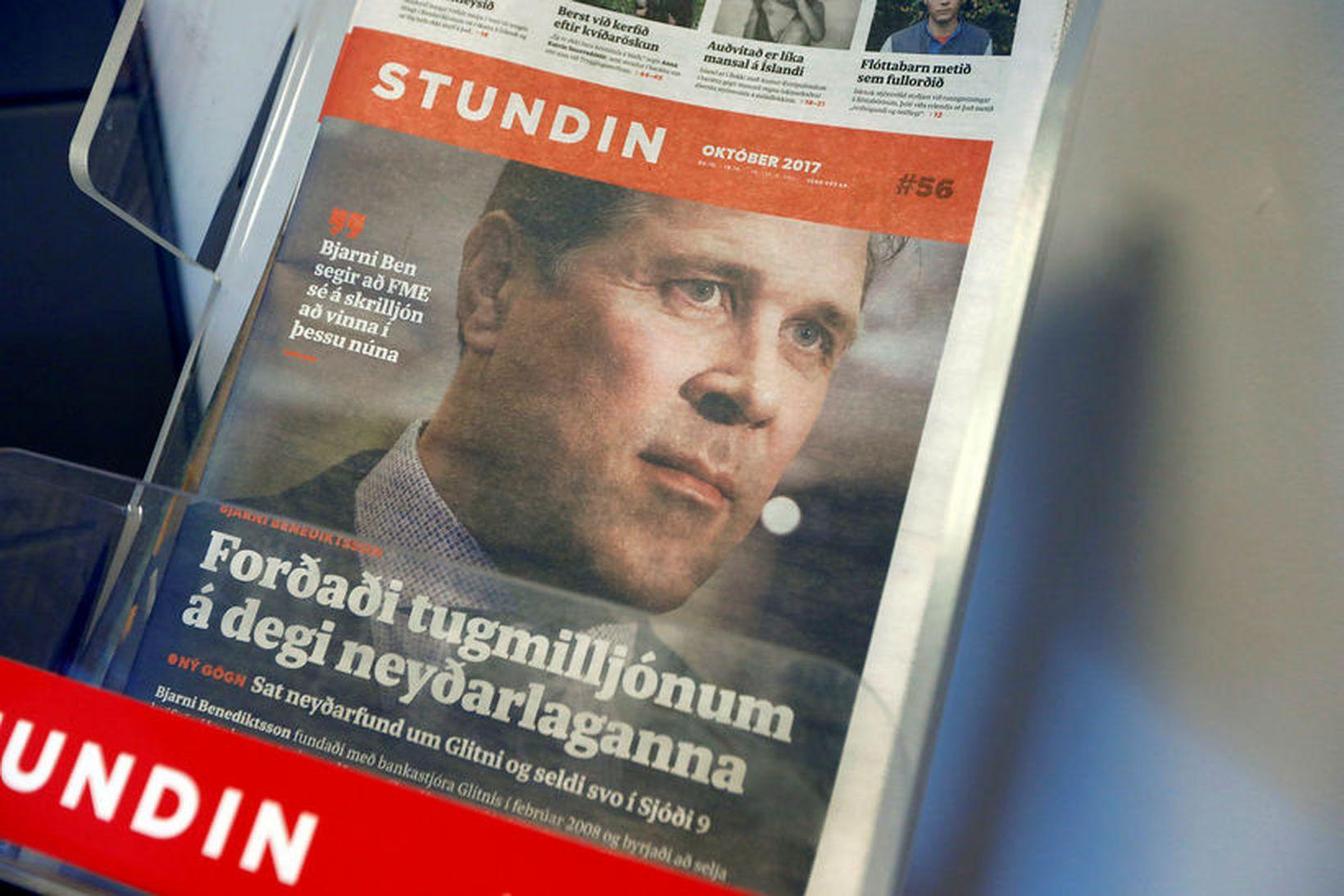 Lögbannsmál Glitnis gegn Stundinni og Reykjavík Media var tekið fyrir …