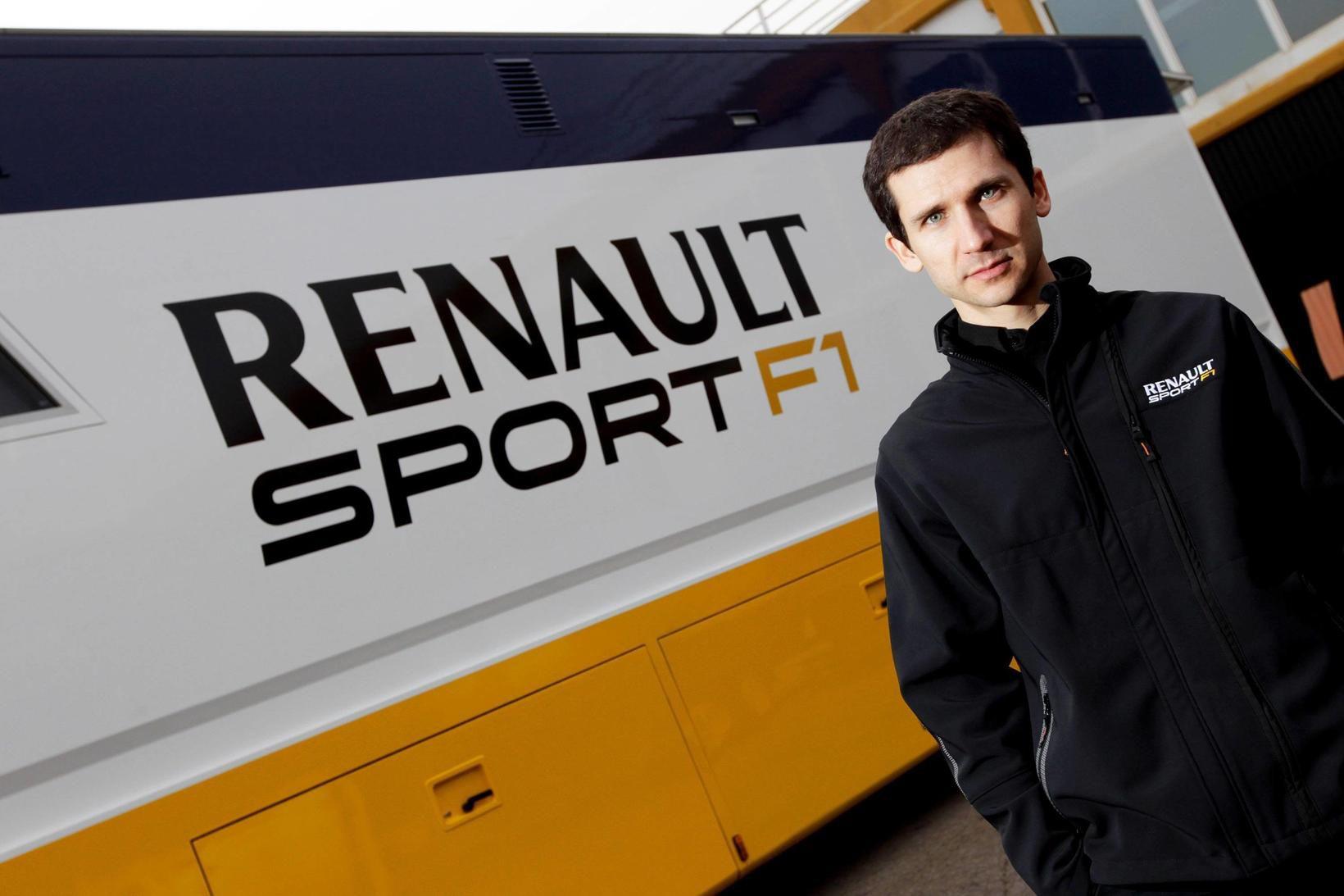 Remi Taffin yfirmaður vélarmála hjá Renaultliðinu.
