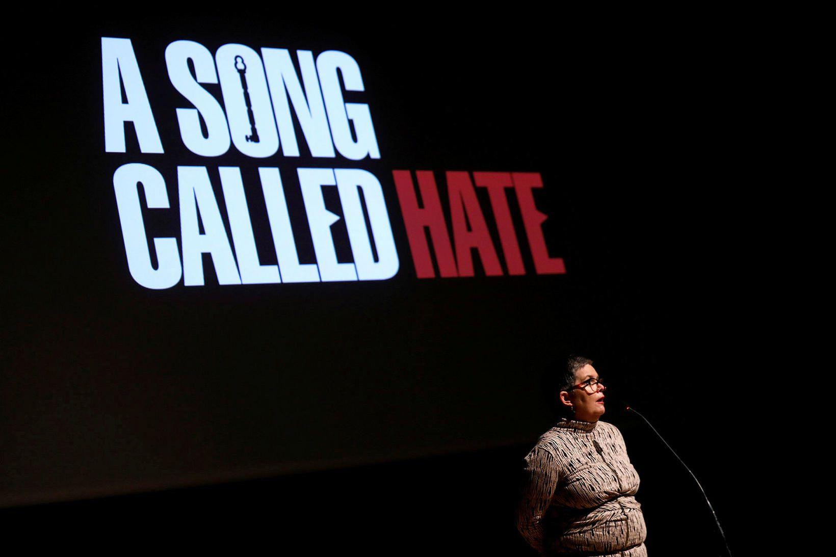 Anna Hildur Hildibrandsdóttir er leikstjóri A Song Called Hate.