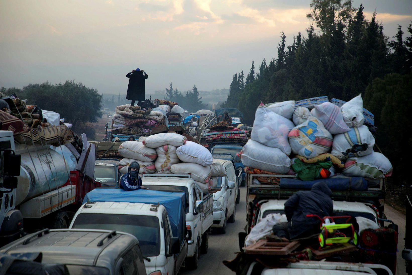 Á aðfangadag í Idlib.