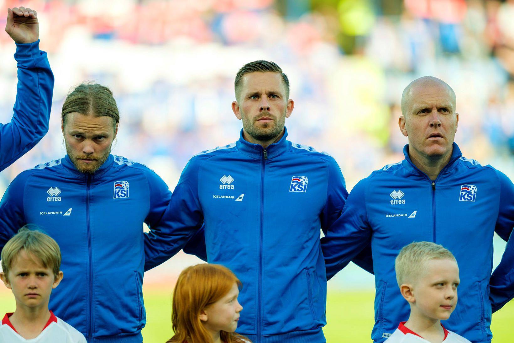Birkir Bjarnason og Emil Hallfreðsson leika báðir á Ítalíu, Birkir …