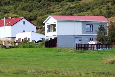The farm at Neðri Dalur, which lies very close to Geysir in Haukadalur.