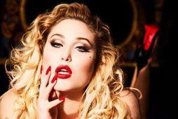 Hayley Hasselhoff var í sínum eigin nærfötum á forsíðu þýska Playboy.