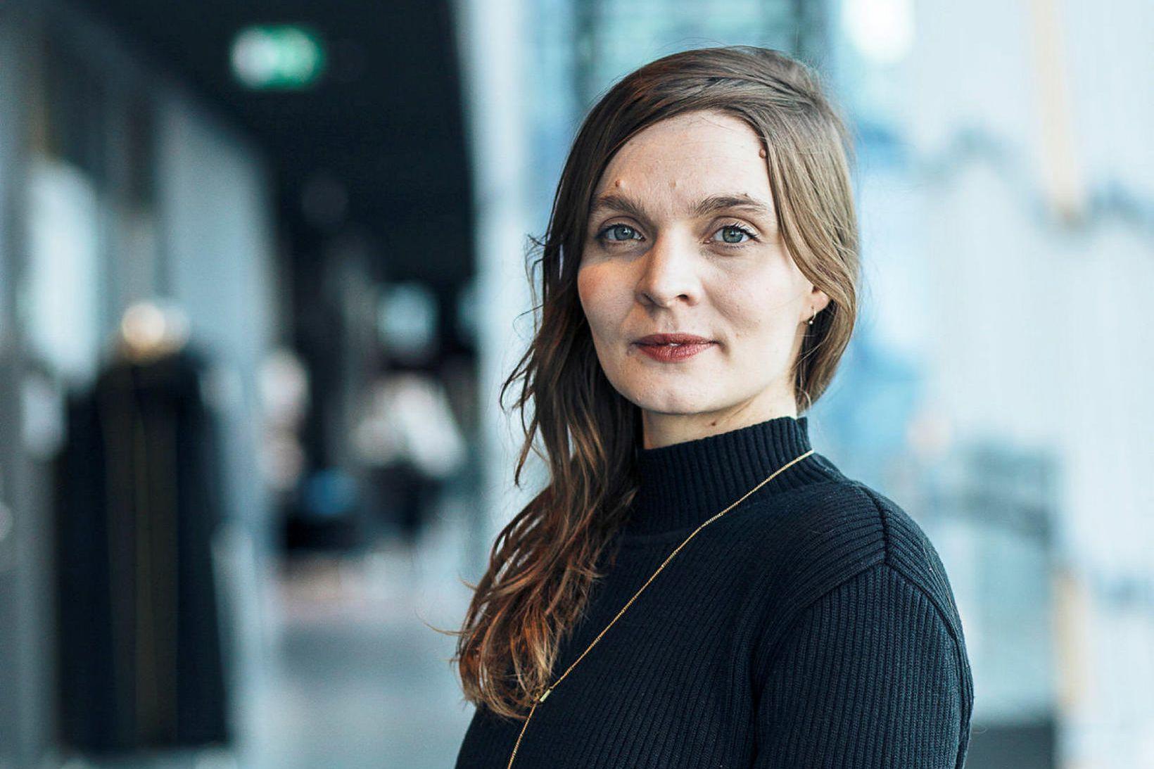 Hildur Guðnadóttir, tónskáld og sellóleikari, hlýtur Íslensku bjartsýnisverðlaunin 2019, menningarverðlaun …
