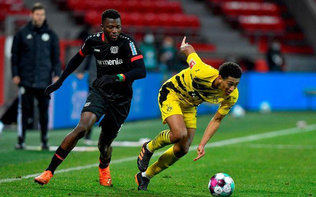 Leverkusen fór upp í annað sætið með sigri á Dortmund í kvöld.