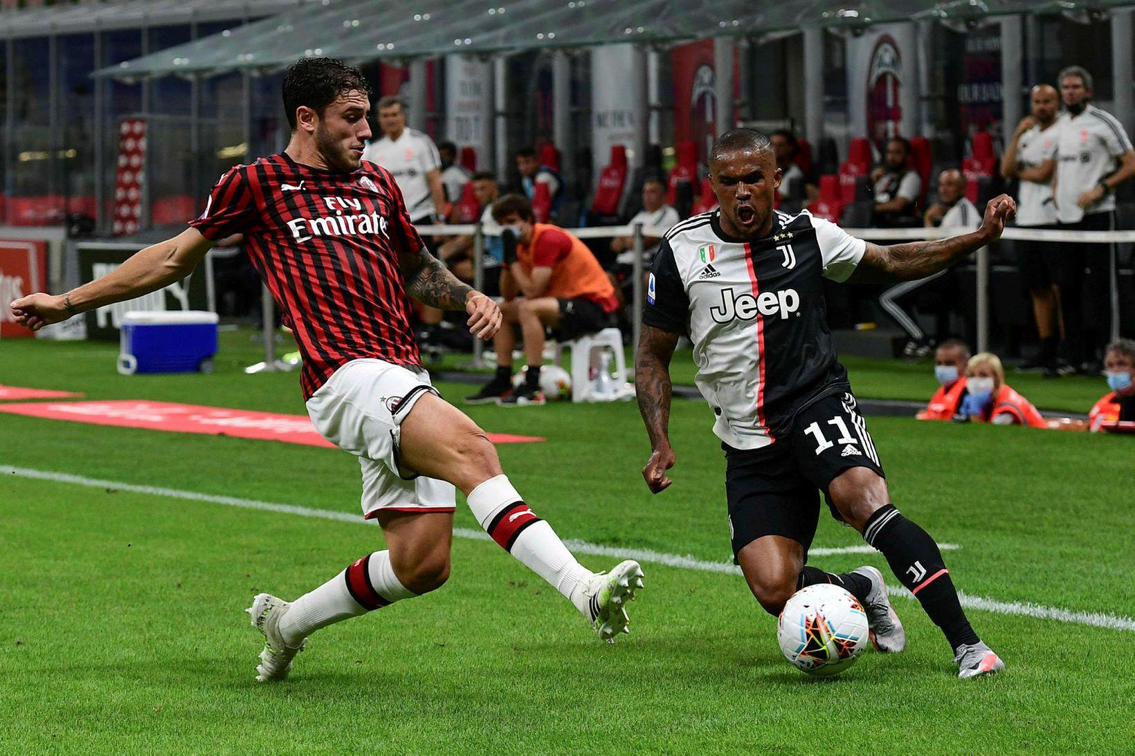 AC Milan og Juventus buðu upp á ótrúlegan leik.