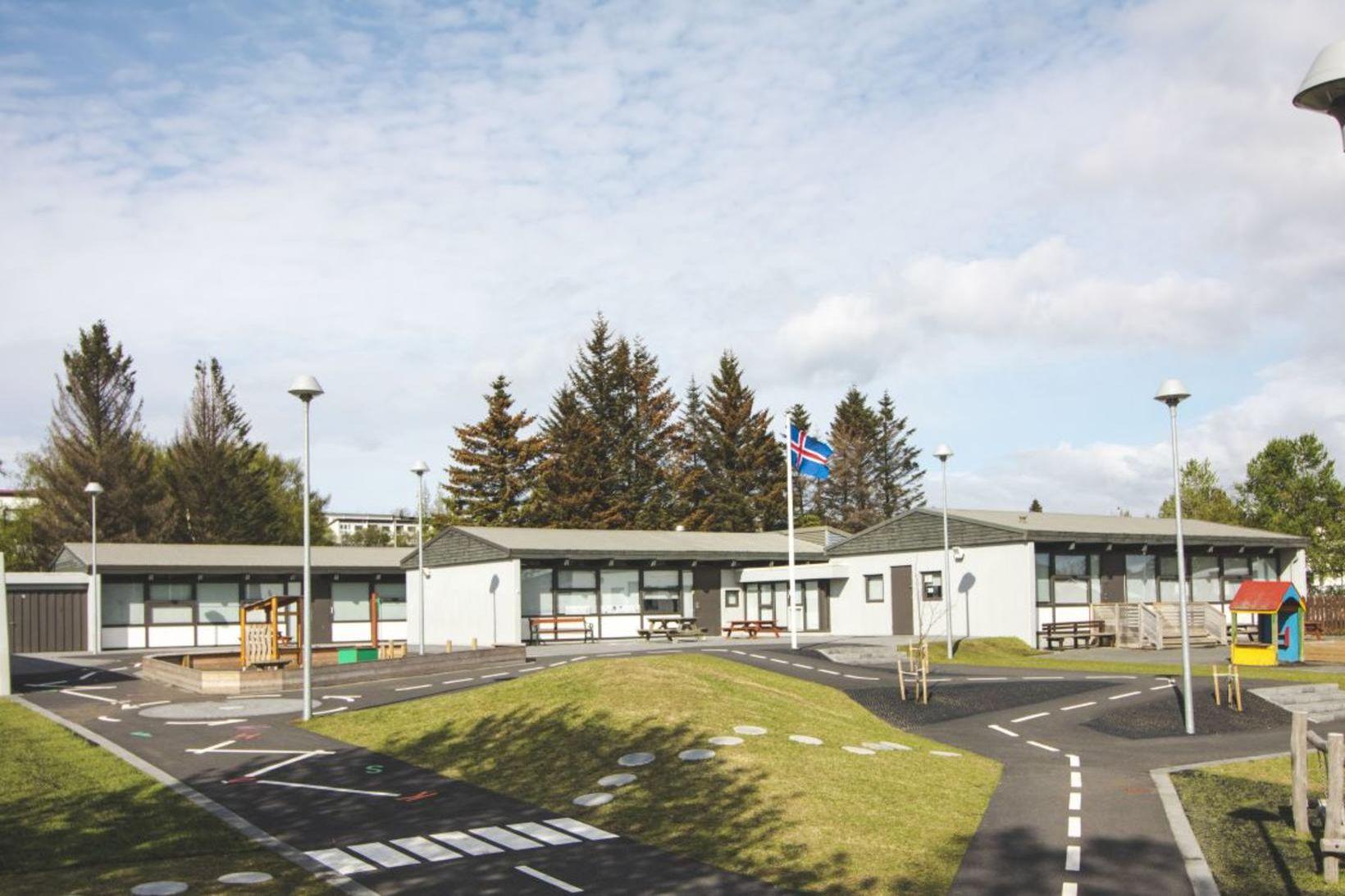 Leikskólinn Kvistaborg í Fossvogsdal.