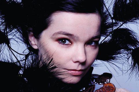 Björk Guðmundsdóttir.