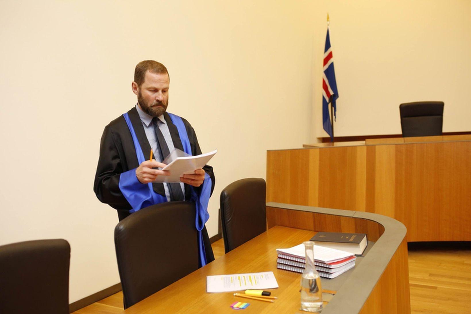 Ástráður Haraldsson hæstaréttarlögmaður.