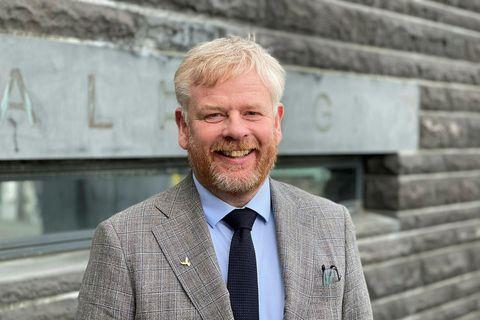 Haraldur Benediktsson alþingismaður.
