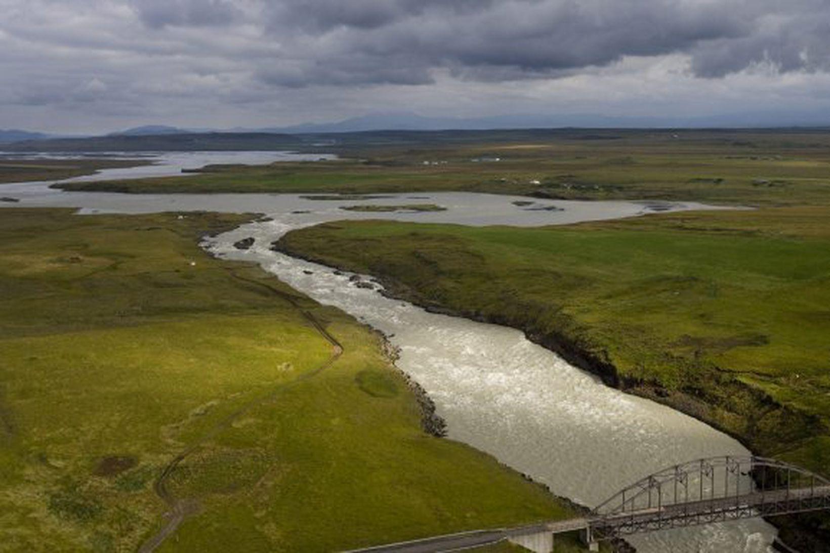 Virkjanir í neðri hluta Þjórsár eru settar í biðflokk.