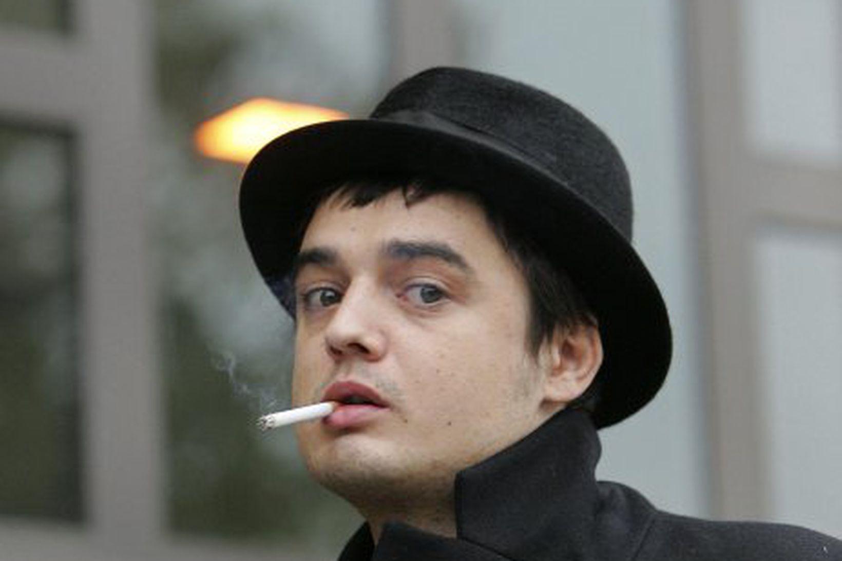 Pete Doherty.