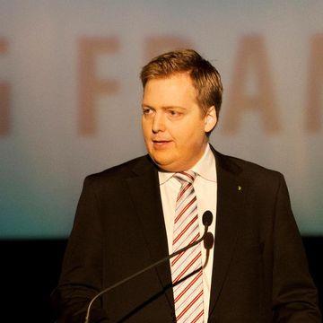 Ex-PM Sigmundur Davíð Gunnlaugsson.