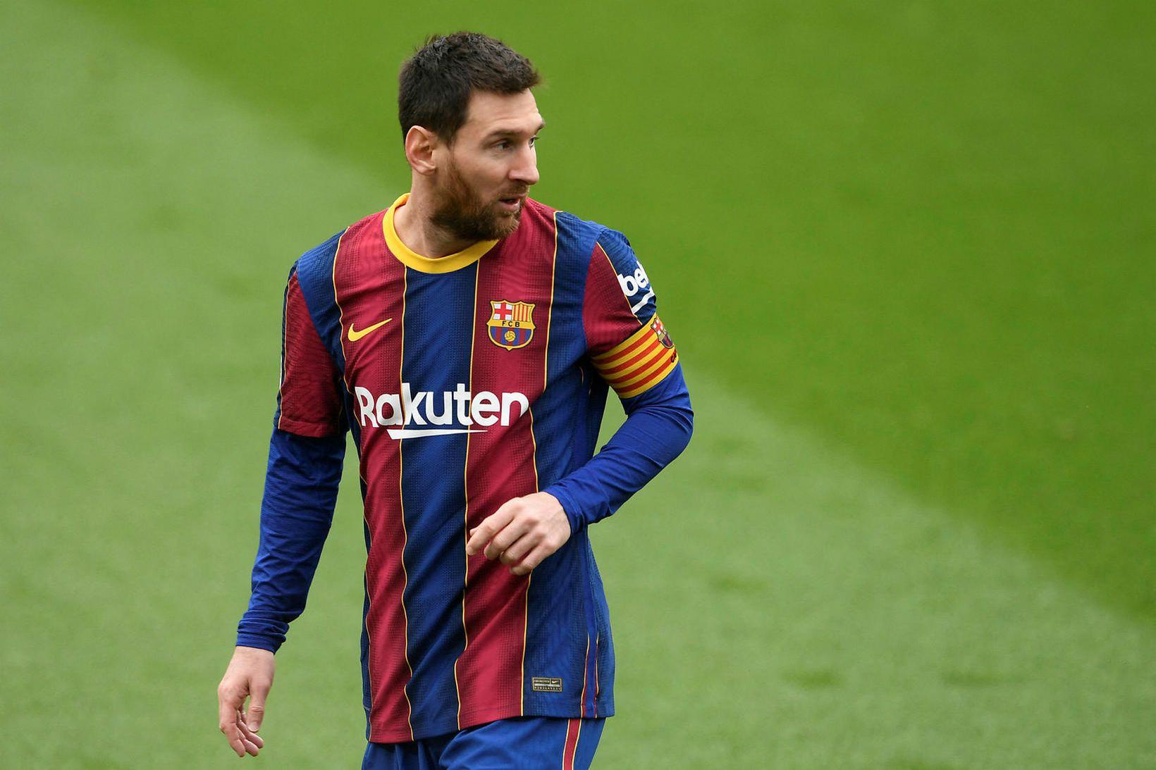 Argentínumaðurinn Lionel Messi fer ekki til heimalandsins í lok mánaðar …