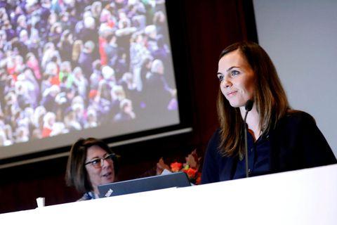 Sonja Ýr Þorbergsdóttir formaður BSRB.