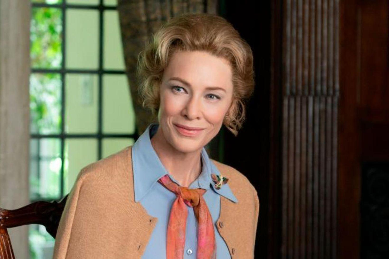 Cate Blanchett fer með hlutverk Phyllis Schlafly.