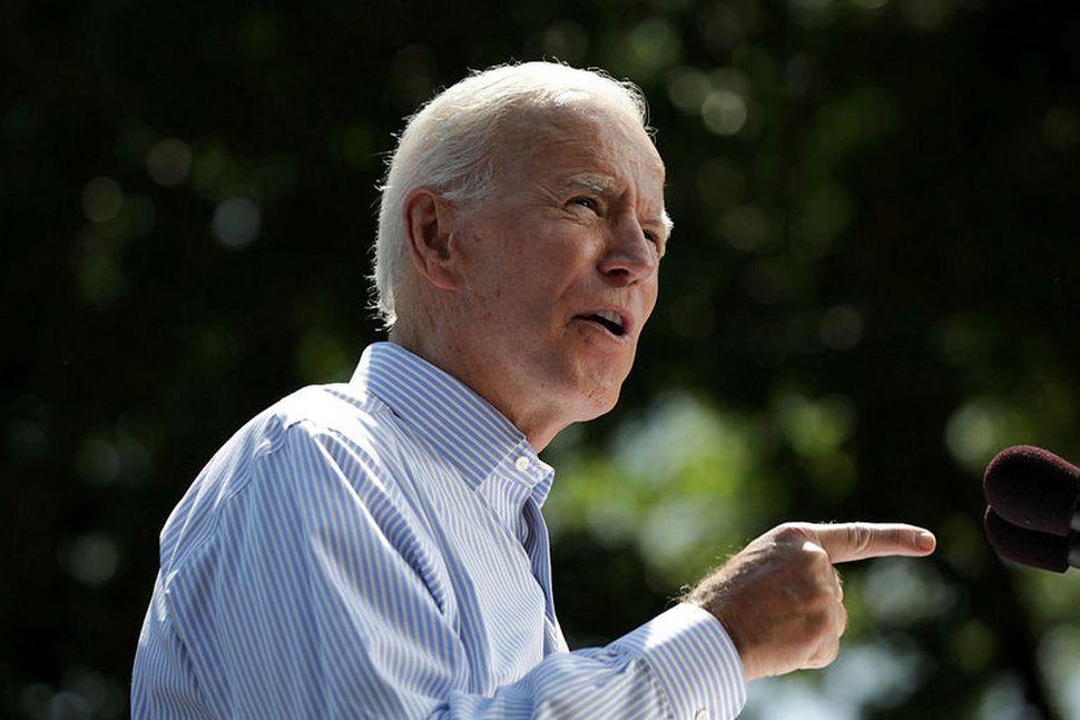 Joe Biden, sem sem sækist eftir því að verða forsetaframbjóðandi ...