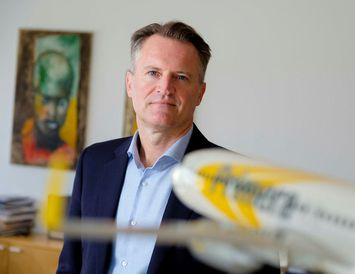 Andri Már Ingólfsson forstjóri og eigandi Primera Air.