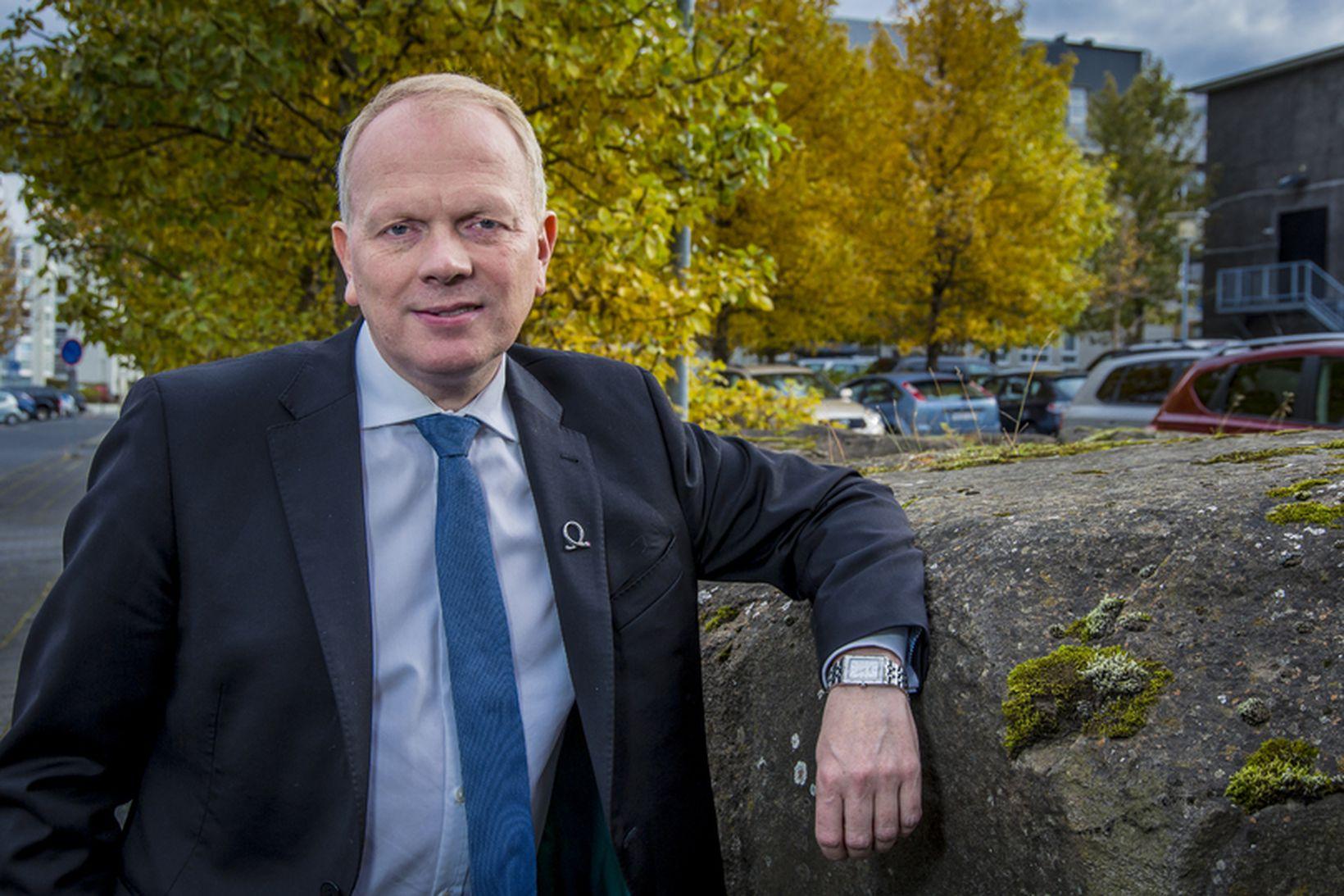 Illugi Gunnarsson mennta- og menningarmálaráðherra.
