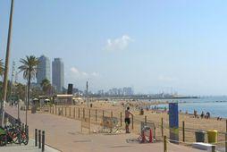 Strangar reglur á ströndum Barcelona