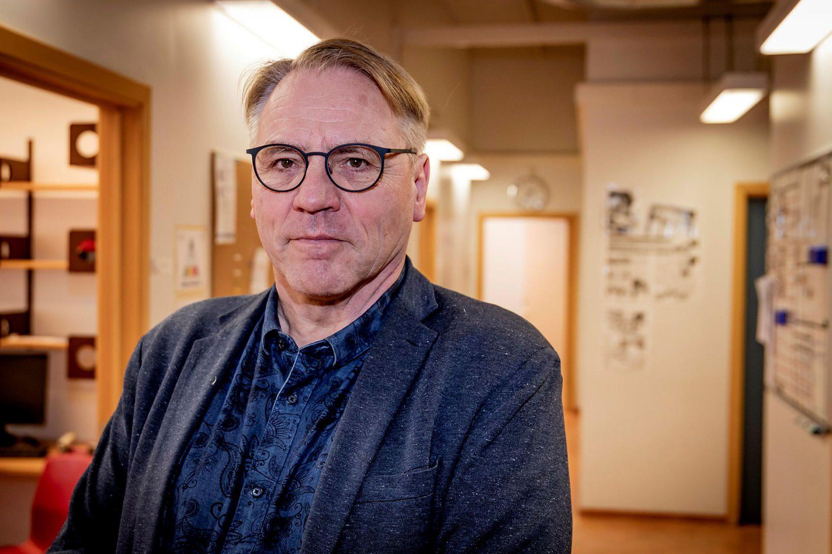 Karl G. Kristinsson, yfirlæknir á sýkla- og veirufræðideild Landspítala.