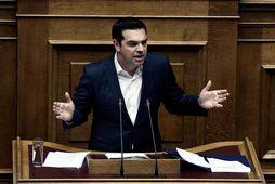 Alexis Tsipras, forsætisráðherra Grikklands.