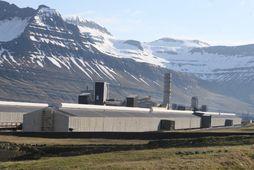 Verksmiða Alcoa Fjarðaráls á Reyðarfirði.