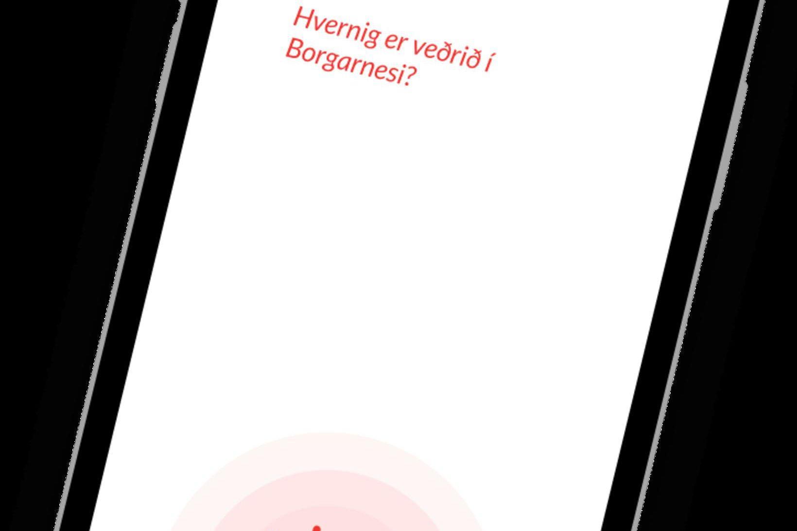 Hægt er að nálgast Emblu í vefverslunum fyrir Apple og …