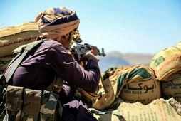 Borgarastyrjöldin í Jemen hefur staðið frá árinu 2014.