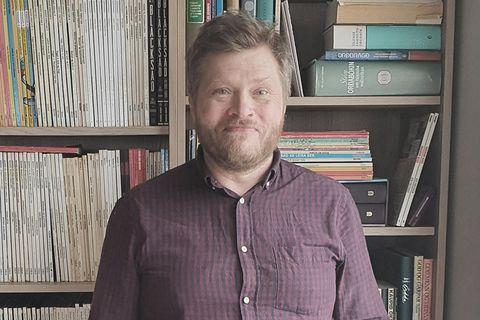 Víkingur Kristjánsson leikari og handritshöfundur.