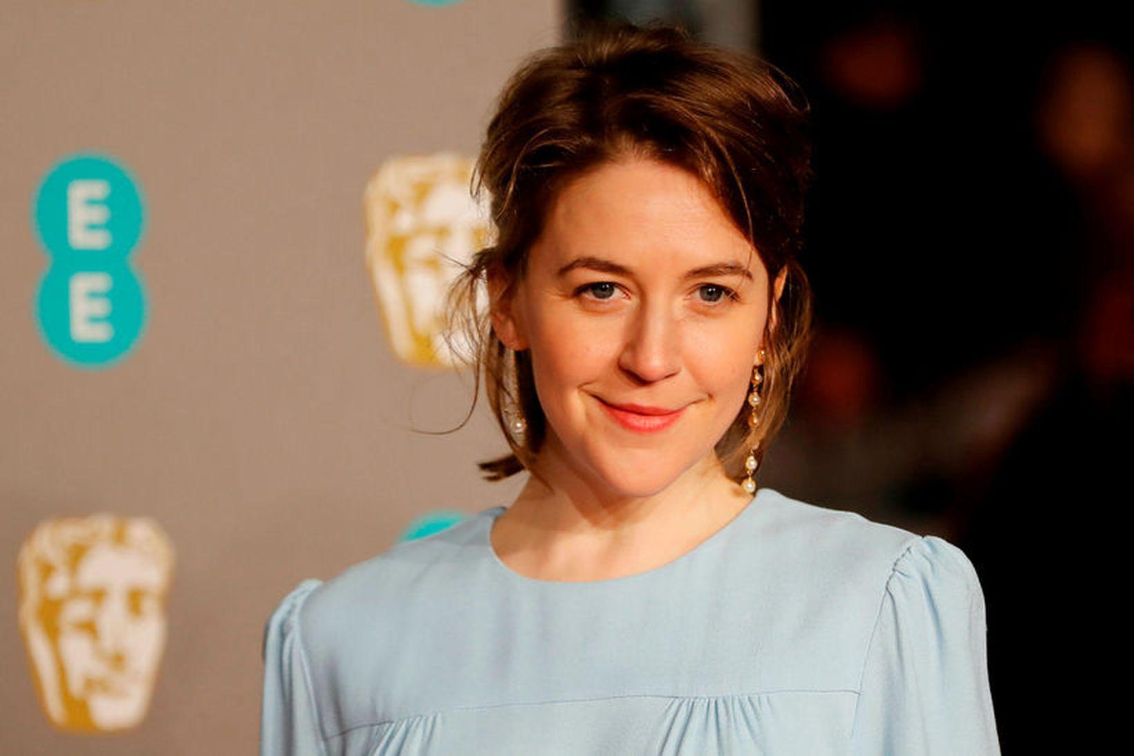 Gemma Whelan með skartgripi frá Aurum á BAFTA.