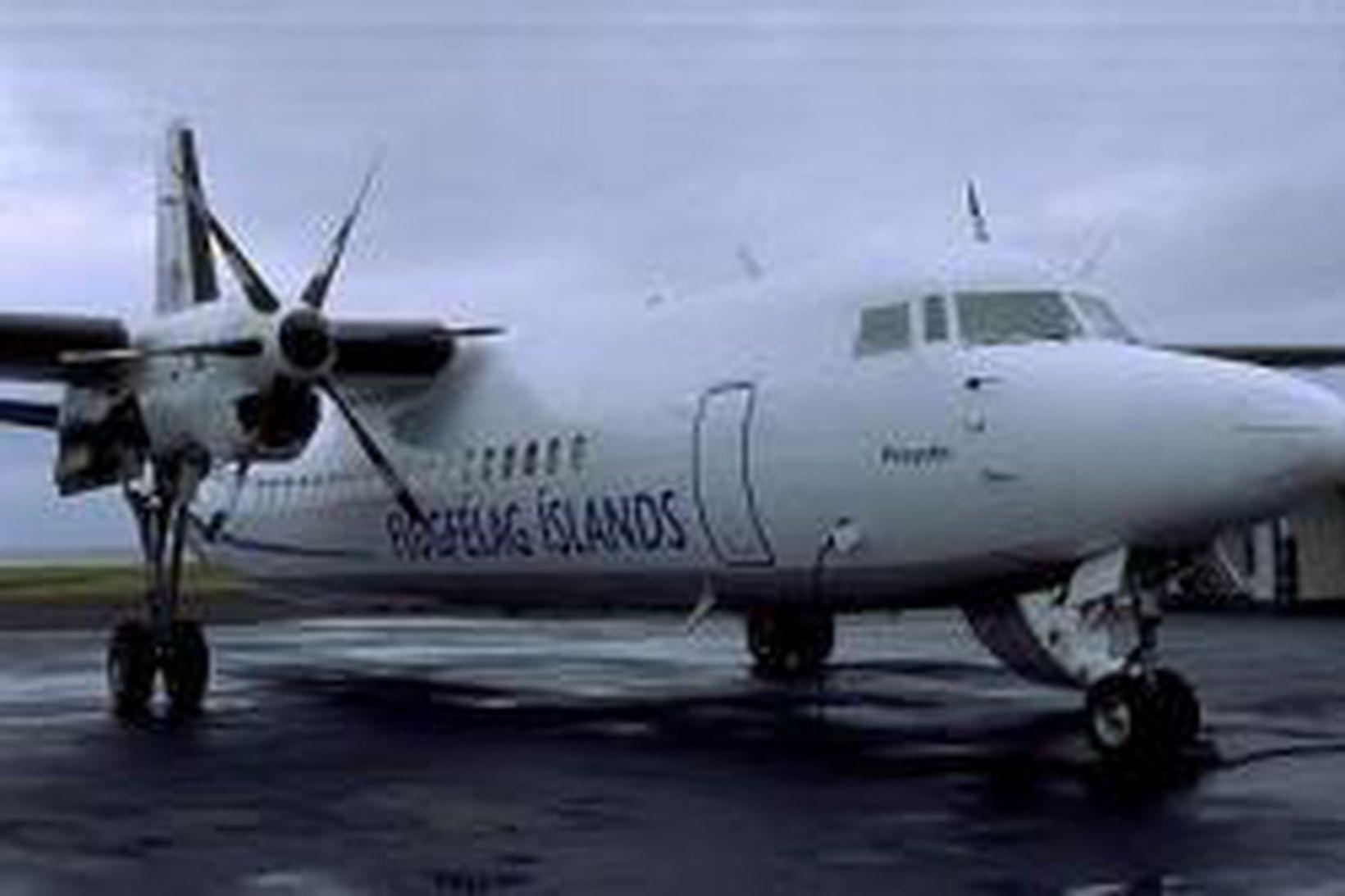 Fokker Flugfélags Íslands.