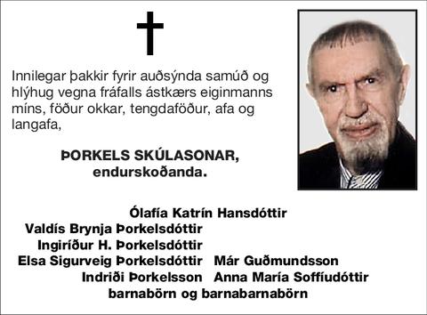 Þorkels Skúlasonar,