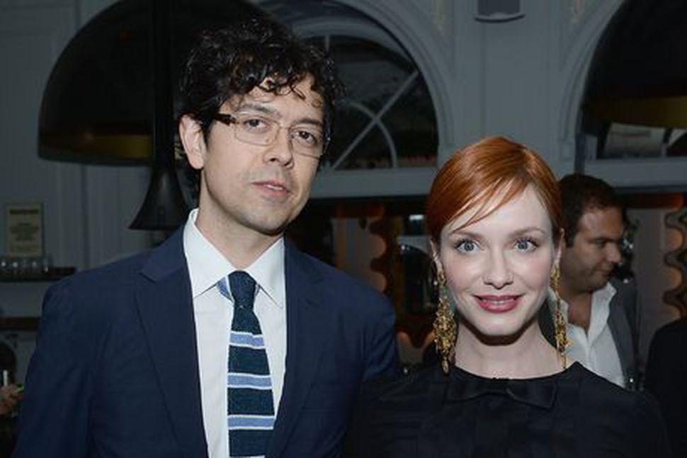 Geoffrey Arend og Christina Hendricks.