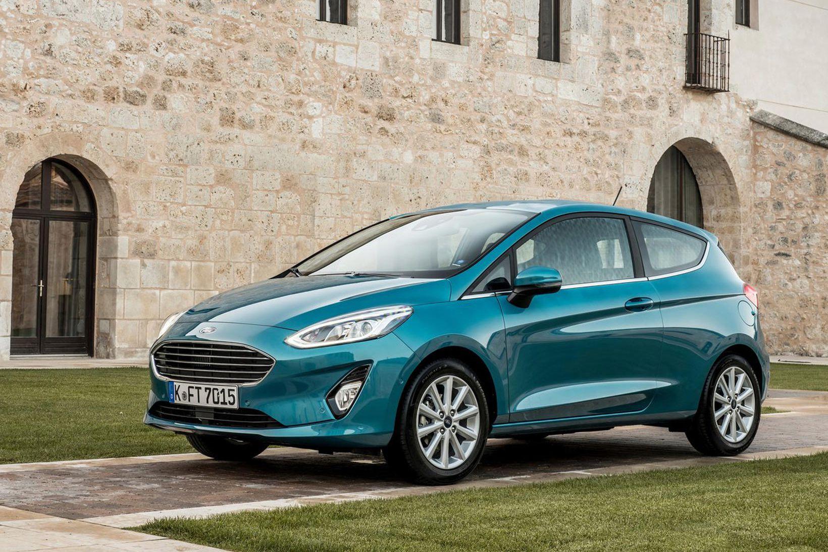 Ford Fiesta hverfur líklega senn úr framleiðslu.