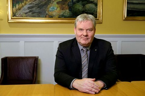 Minister of Transport and Local Government Sigurður Ingi Jóhannsson.