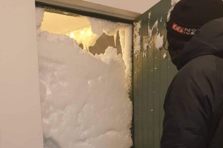 When Jón Stefán Jónsson opened the front door of his house this morning, this is …