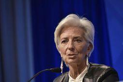 Erindi Lagarde lak þremur dögum áður en fjármálaráðherrar Evruríkjanna funda.