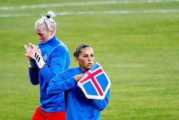 Sara Björk Gunnarsdóttir er barnshafandi.