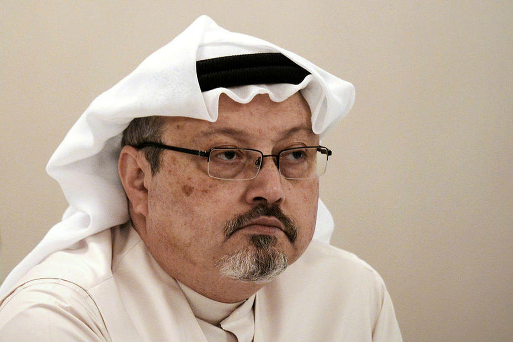 Sádiarabíski blaðamaðurinn Jamal Khashoggi var drepinn á ræðismannaskrifstofu heimalands síns …