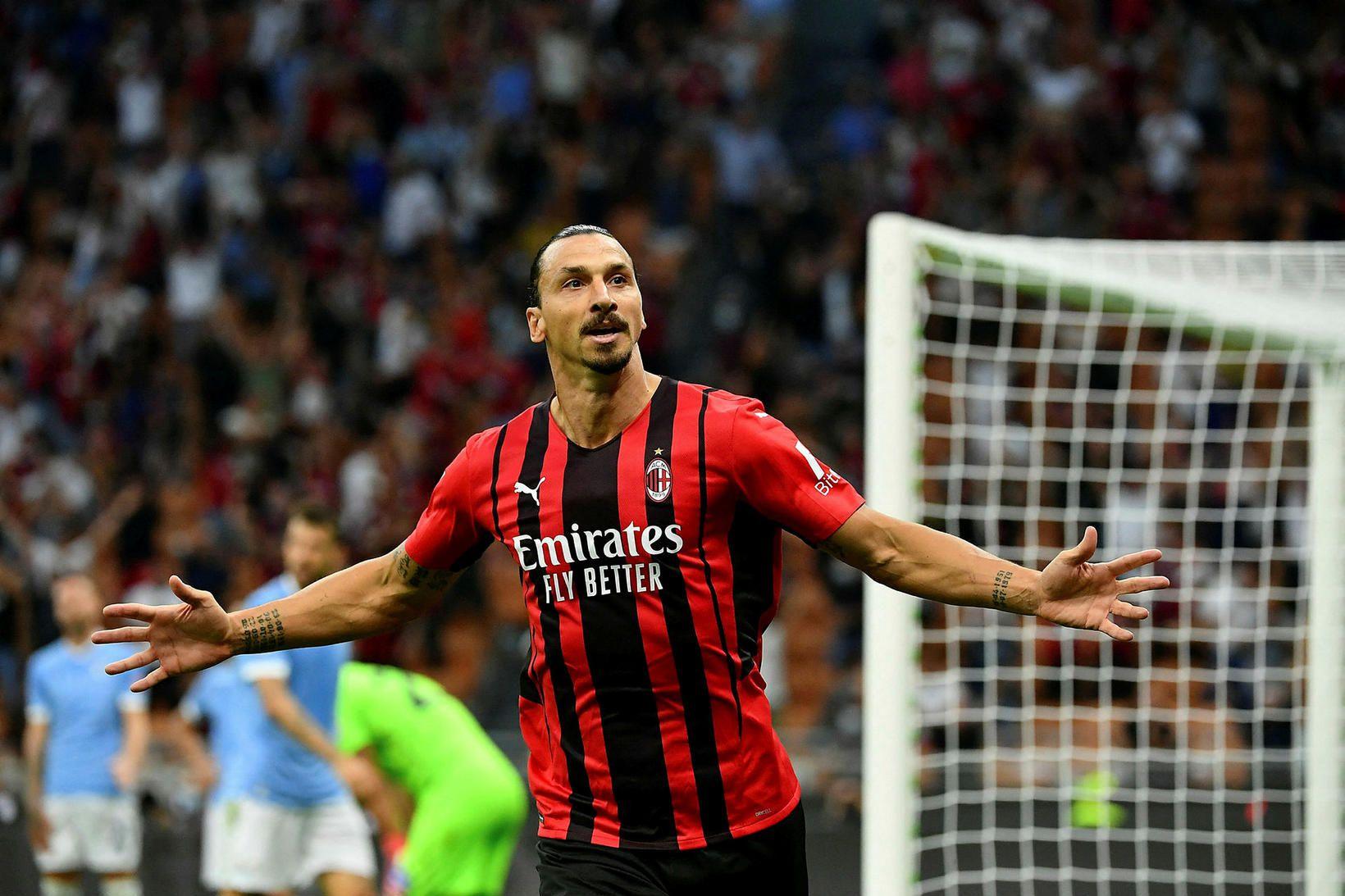 Zlatan Ibrahimovic hefur óbilandi trú á sjálfum sér.
