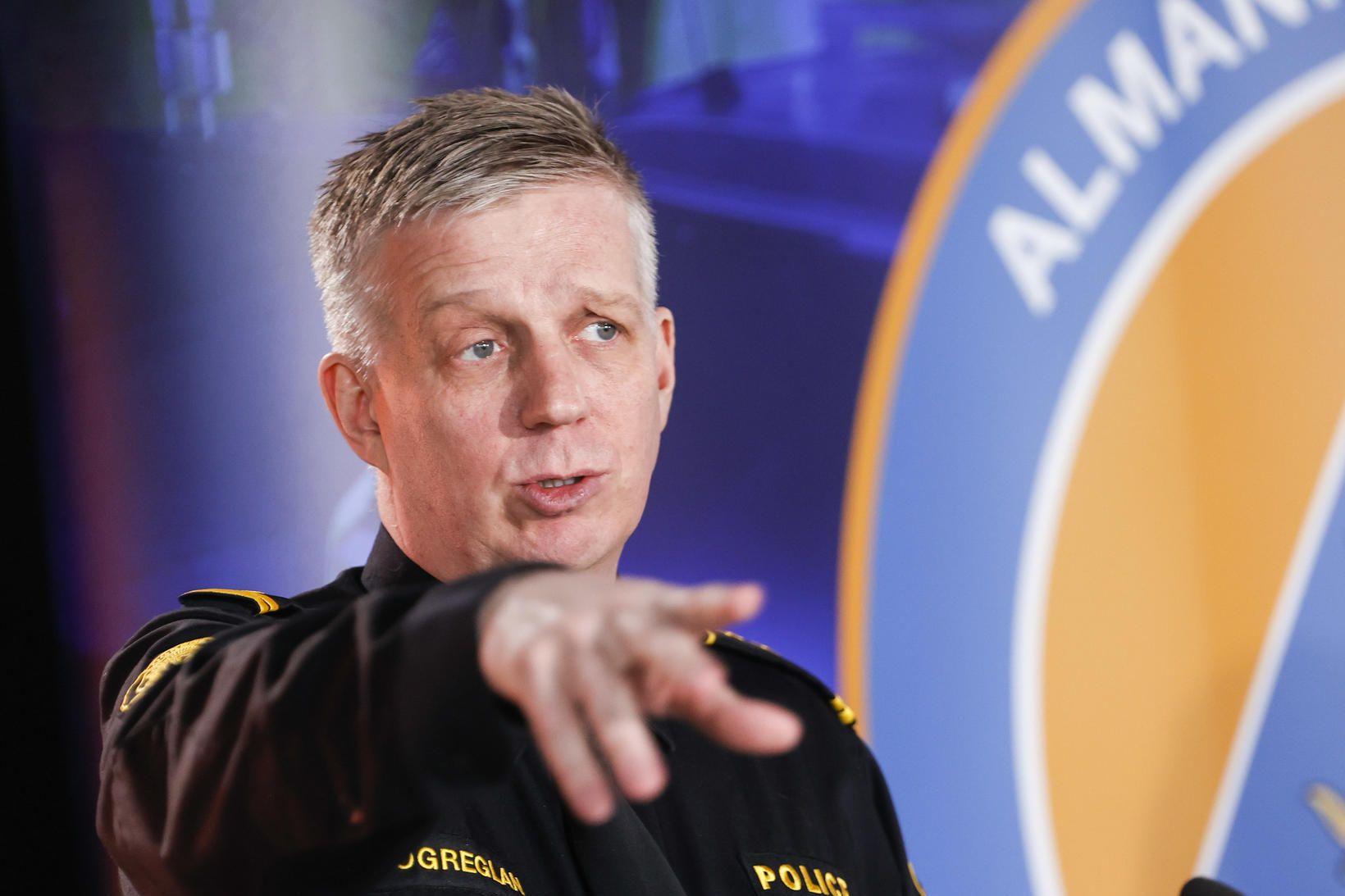 Víðir Reynisson, yfirlögregluþjónn almannavarnadeildar ríkislögreglustjóra.