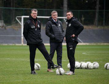 Geert Dirinck, Rúnar Kristinsson og Arnar Þór Viðarsson