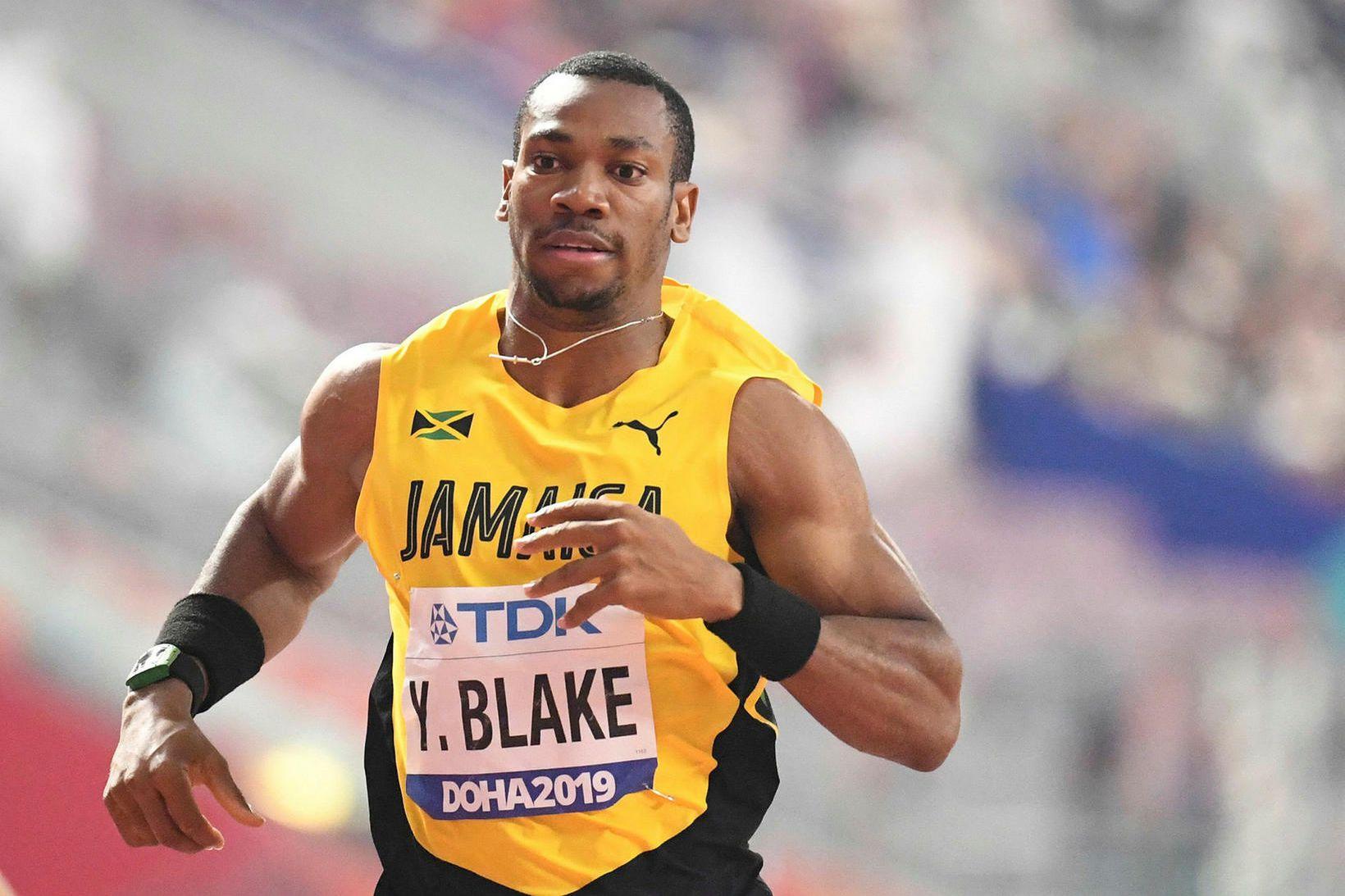Yohan Blake hefur verið einn besti spretthlaupari heims í rúman …